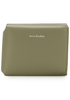 Acne Studios fold card holder - Green