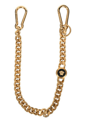 Versace resin Medusa key chain - Gold