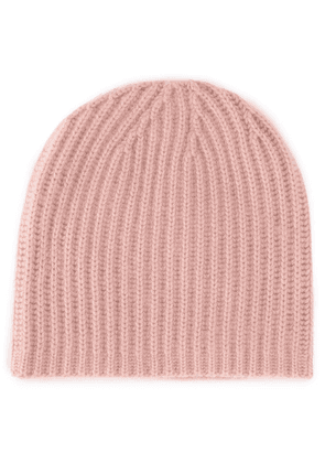Warm-Me cable knit beanie - Pink