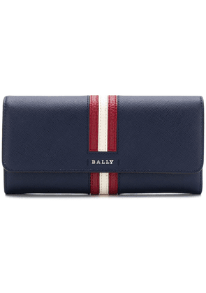 Bally striped square purse - Blue