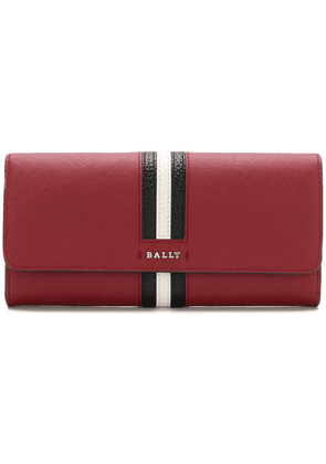 Bally front striped square purse - Red