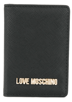 Love Moschino folded card case - Black