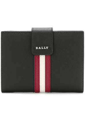 Bally mini striped purse - Black