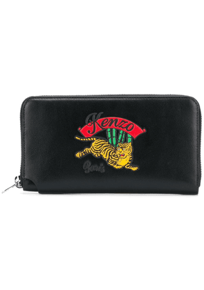 Kenzo embroidered logo purse - Black