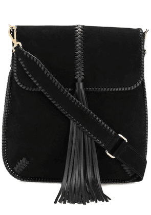 Alberta Ferretti tassel detail shoulder bag - Black
