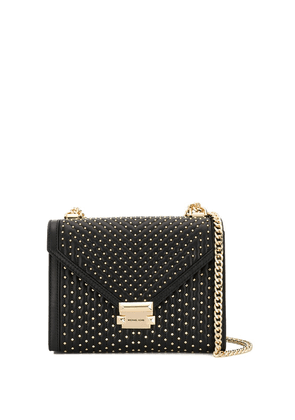 Michael Michael Kors studded shoulder bag - Black