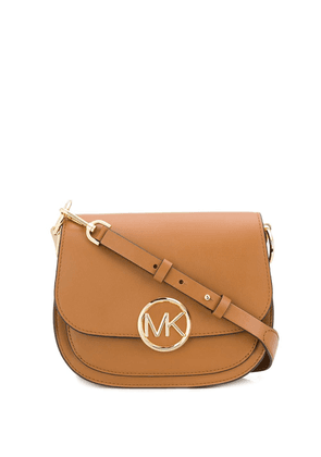 Michael Michael Kors logo shoulder bag - Brown