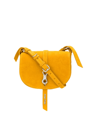 Miu Miu flap shoulder bag - Yellow