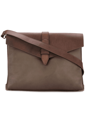 Officine Creative Arman laptop bag - Brown