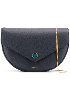 Mulberry round foldover shoulder bag - Blue
