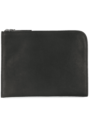 Officine Creative tablet zipped clutch - Black