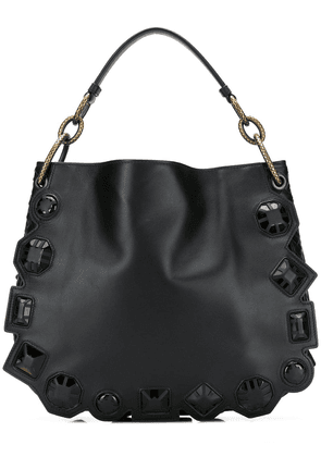 Bottega Veneta embellished Loop bag - Black