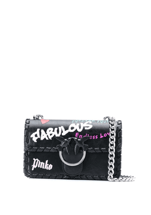 Pinko Love Fabulous mini shoulder bag - Black