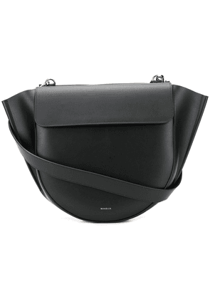 Wandler big Hortensia shoulder bag - Black