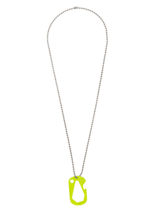 Off-White lifesaver necklace - Yellow