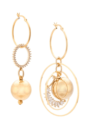 Mounser orb earring - Gold