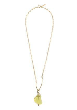 Marni stone necklace - Gold