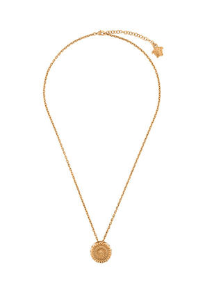 Versace Medusa crystallite necklace - Gold