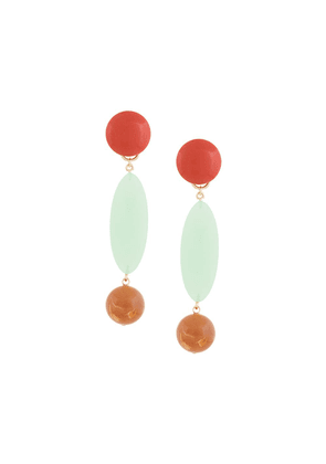 Rachel Comey marble drop earrings - Multicolour