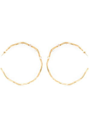 Aurelie Bidermann 'Cheyne Walk' hoop earrings - Metallic