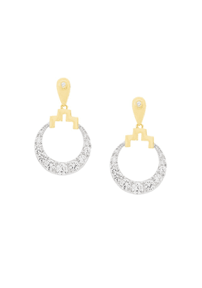 V Jewellery Bianca earrings - Metallic