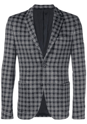 Fendi checkered blazer - Blue