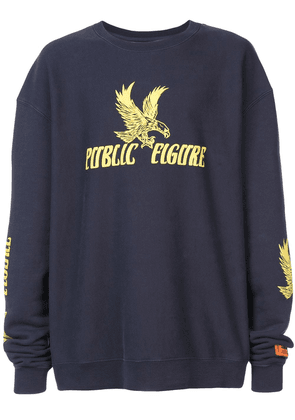 Heron Preston Public Figure sweatshirt - Blue