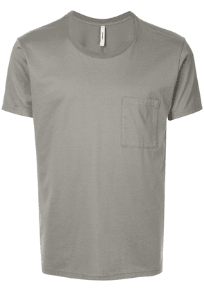 Attachment chest pocket T-shirt - Grey