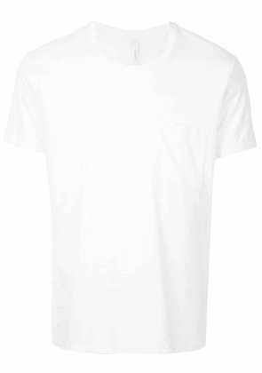 Attachment chest pocket T-shirt - White