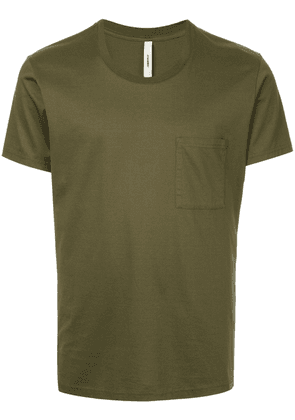 Attachment chest pocket T-shirt - Green