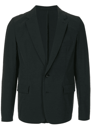 Attachment single breasted blazer - Blue