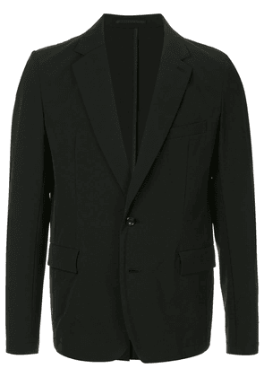 Attachment single breasted blazer - Black