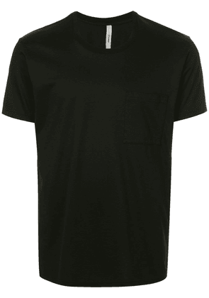 Attachment chest pocket T-shirt - Black