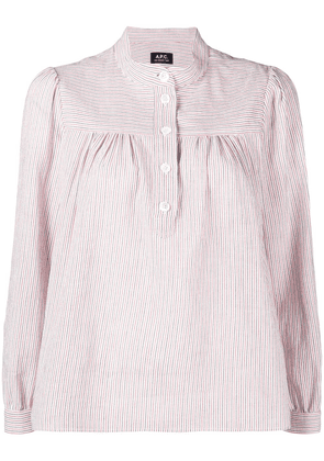 A.P.C. Loula long sleeve blouse - Red