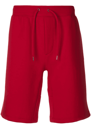Polo Ralph Lauren logo print shorts - Red