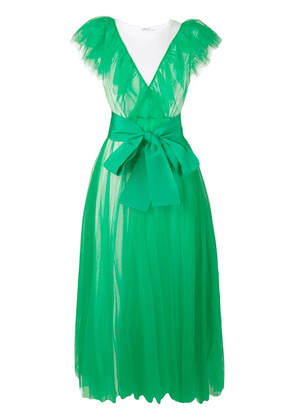 P.A.R.O.S.H. Nylla gown - Green