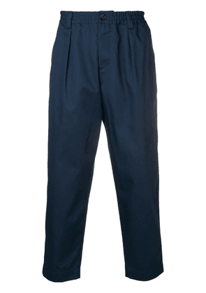 Marni cropped tailored trousers - Blue