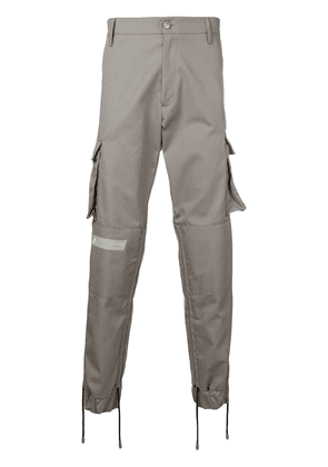 Gcds structured cargo trousers - Grey