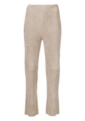 Stouls pearl light flared trousers - Neutrals