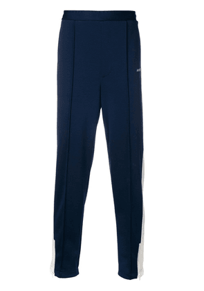 Ambush side stripe track pants - Blue