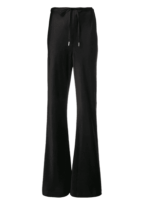 T By Alexander Wang black flared track pants
