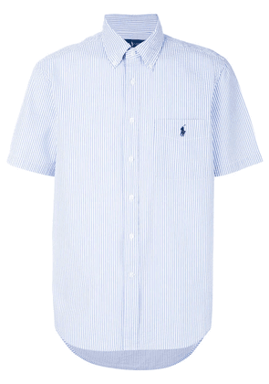 Polo Ralph Lauren striped logo shirt - Blue