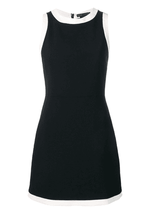 Alice+Olivia contrast trim dress - Black