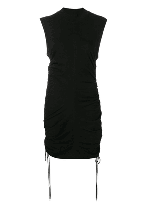 T By Alexander Wang black fitted dress