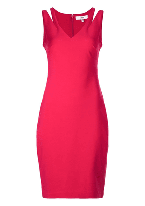Likely cut-out dress - Red