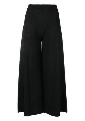D.Exterior cropped trousers - Black