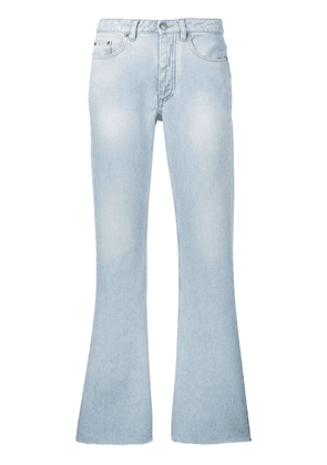 Mm6 Maison Margiela denim bootcut jeans - Blue