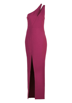 Likely one-shoulder evening dress - Red