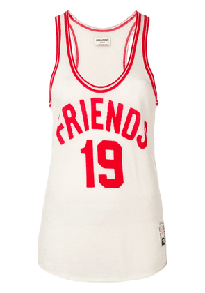 Zadig & Voltaire Joss 'friends' tank top - White