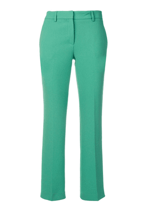 L'Autre Chose cropped flare trousers - Green